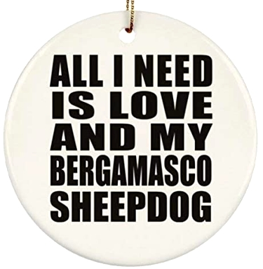 I Love My Bergamasco Sheepdog